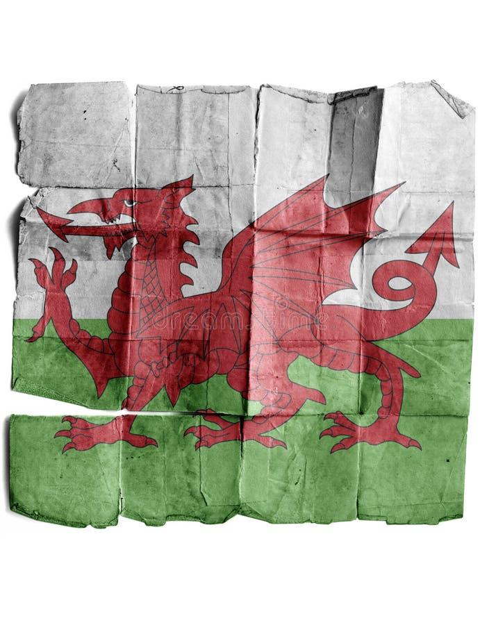 Indicador de País de Gales foto de archivo