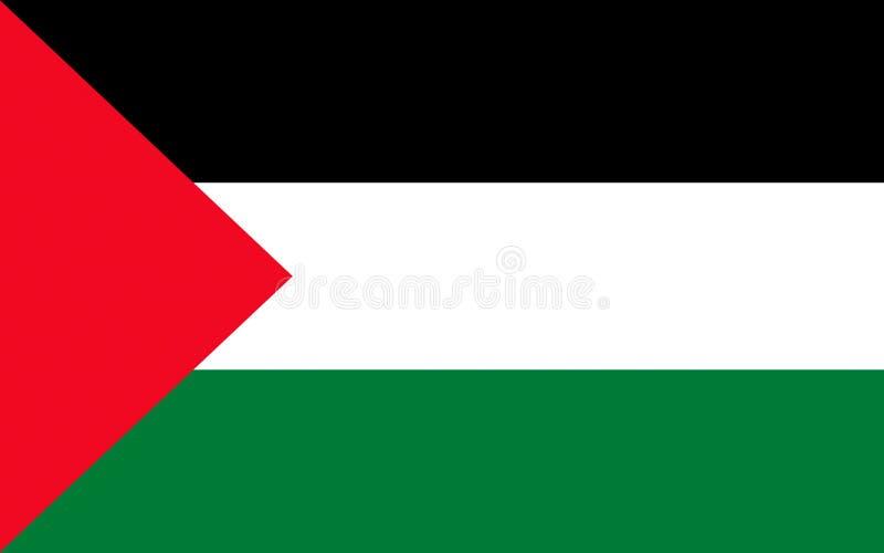 Indicador de Palestina stock de ilustración