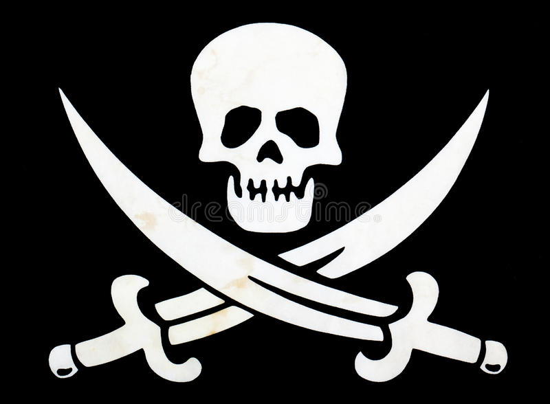 Indicador de pirata foto de archivo libre de regalías