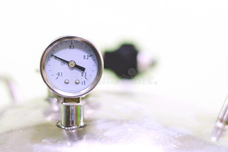 Indicador de presión de aire fotos de archivo libres de regalías