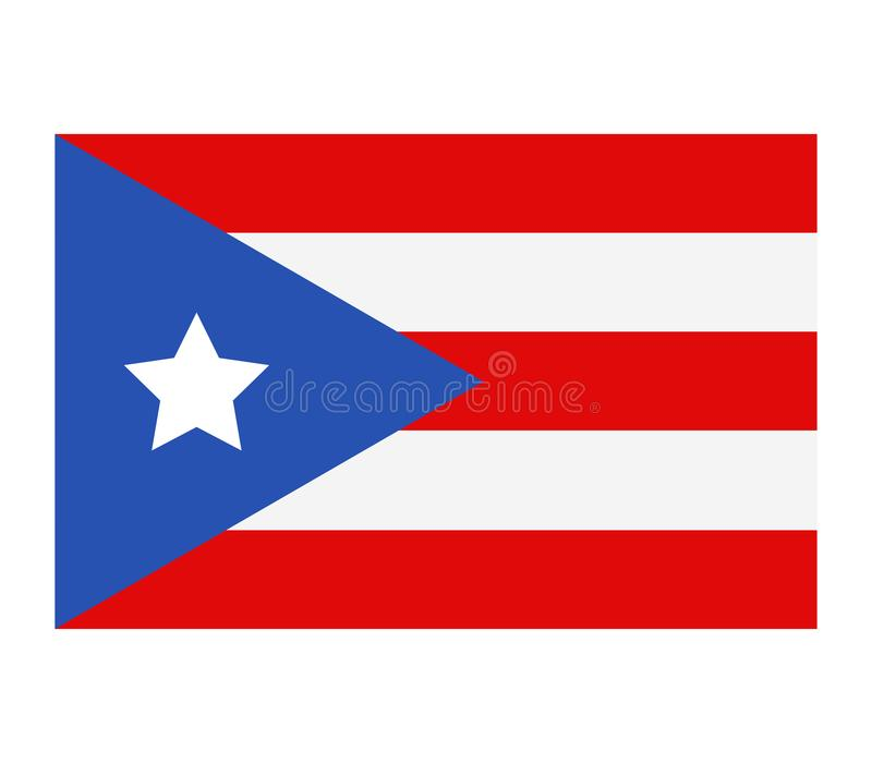 Indicador de Puerto Rico stock de ilustración