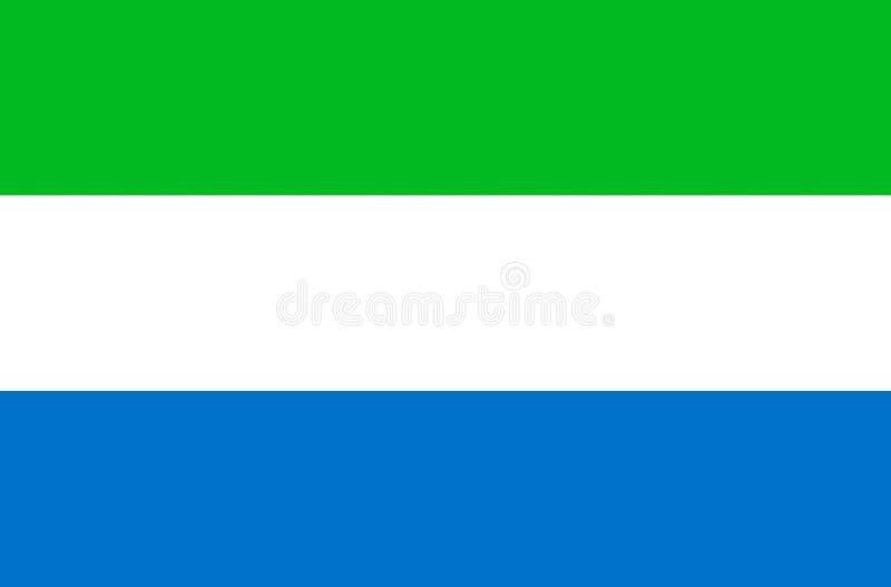 Indicador de Sierra Leona fotografía de archivo libre de regalías