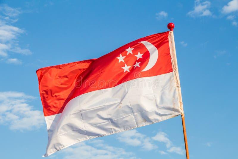 Indicador de Singapur imagen de archivo libre de regalías