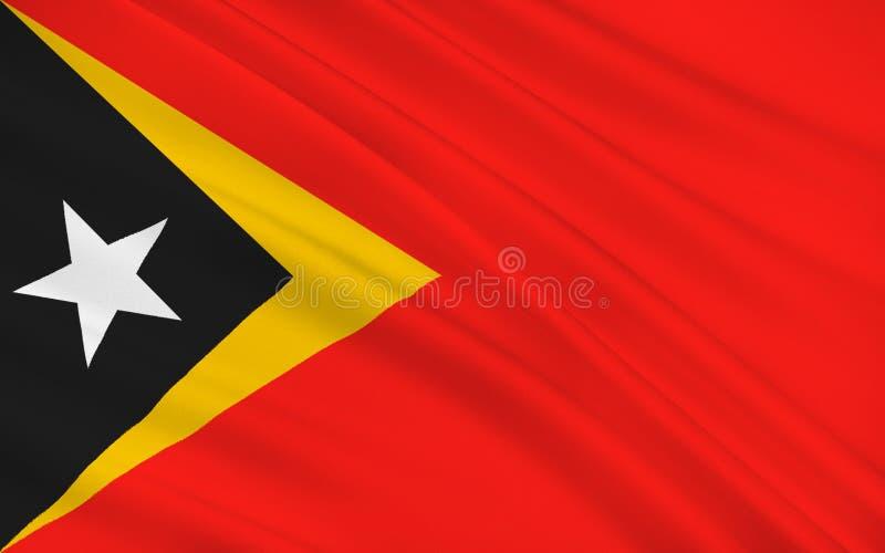 Indicador de Timor Oriental ilustración del vector