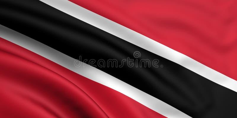 Indicador de Trinidad And Tobago ilustración del vector