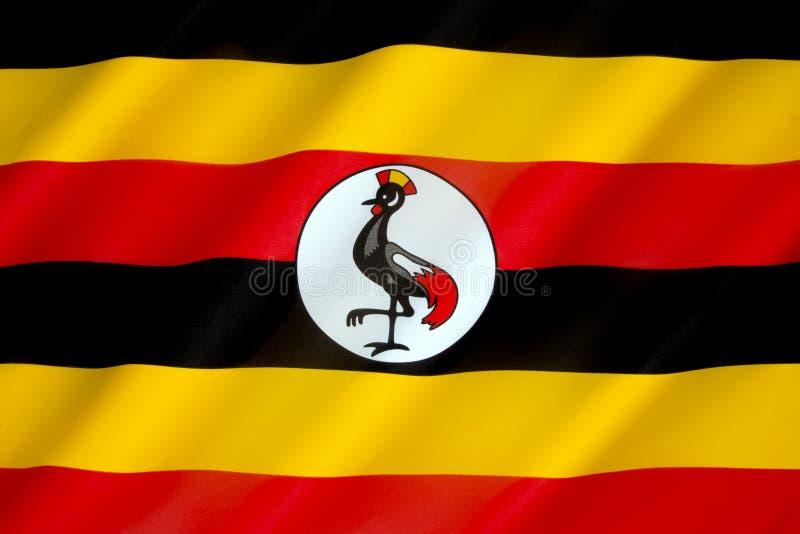 Indicador de Uganda imágenes de archivo libres de regalías