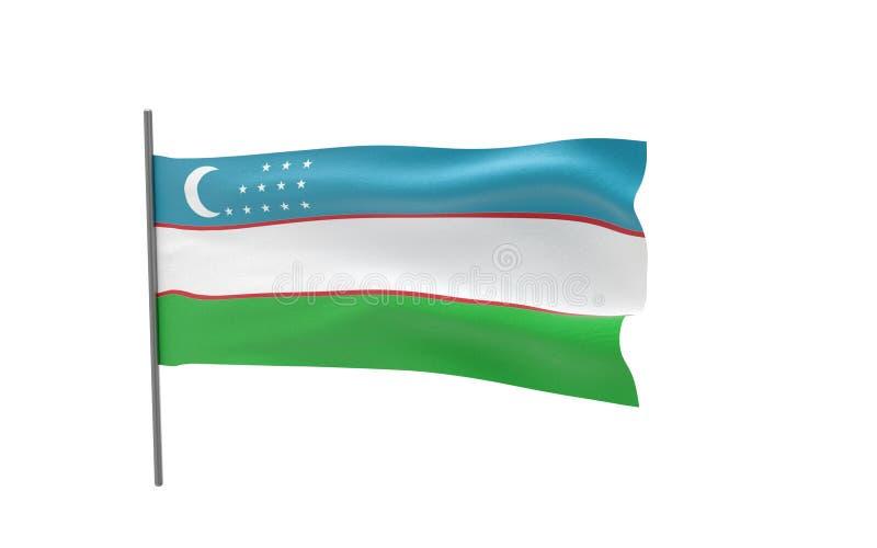 Indicador de Uzbekistan libre illustration