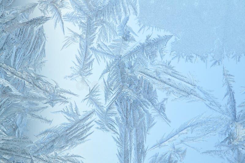 Indicador de vidro congelado imagem de stock