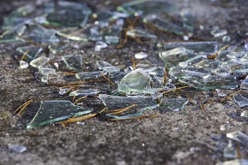 Indicador de vidro quebrado imagem de stock royalty free