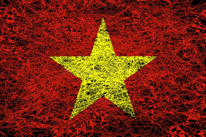 Indicador de Vietnam ilustración del vector