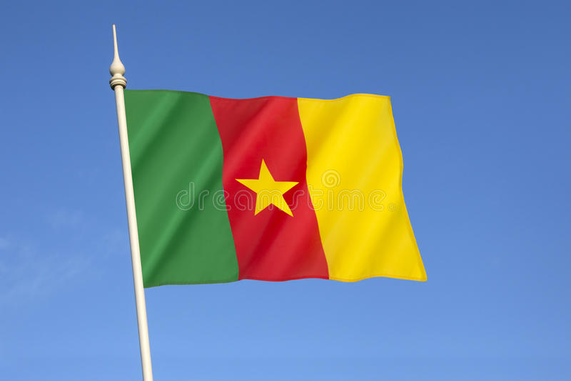 Indicador del Camerún imagenes de archivo