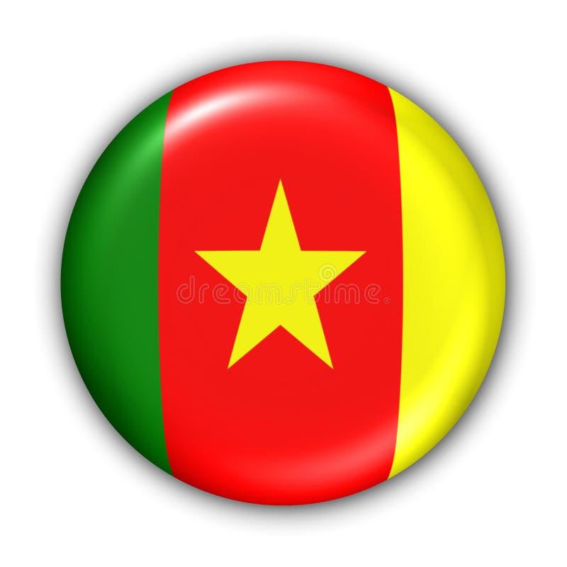 Indicador del Camerún ilustración del vector