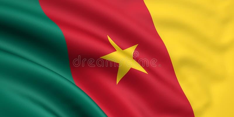 Indicador del Camerún stock de ilustración