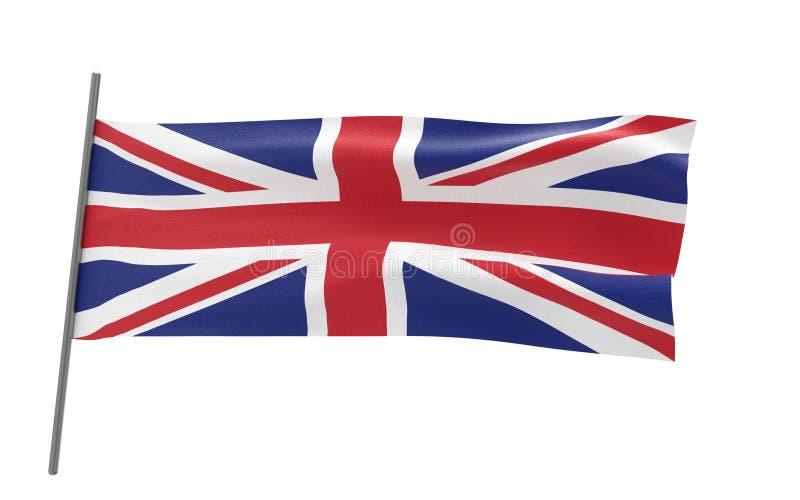Indicador del Reino Unido ilustración del vector