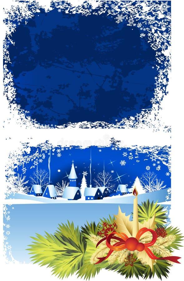Indicador do Natal. ilustração do vetor