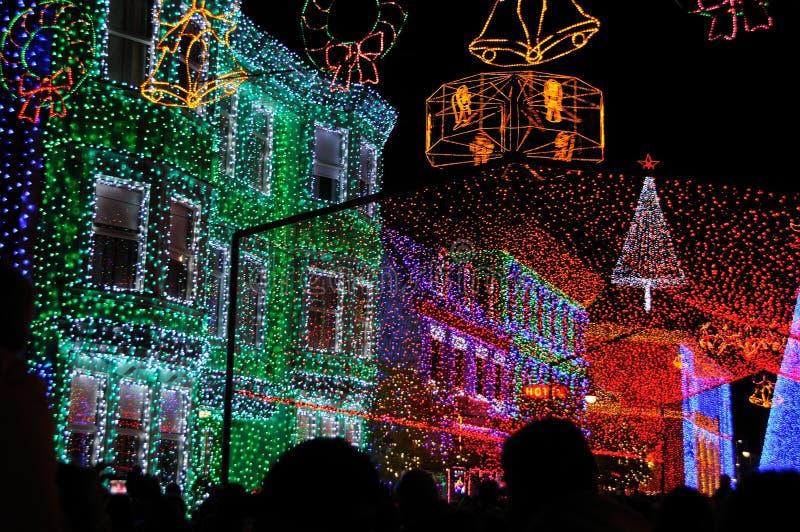Indicador do Natal de Osborne no mundo de Walt Disney foto de stock