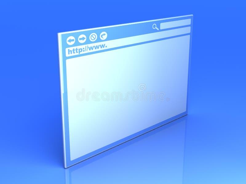 Indicador do navegador ilustração do vetor