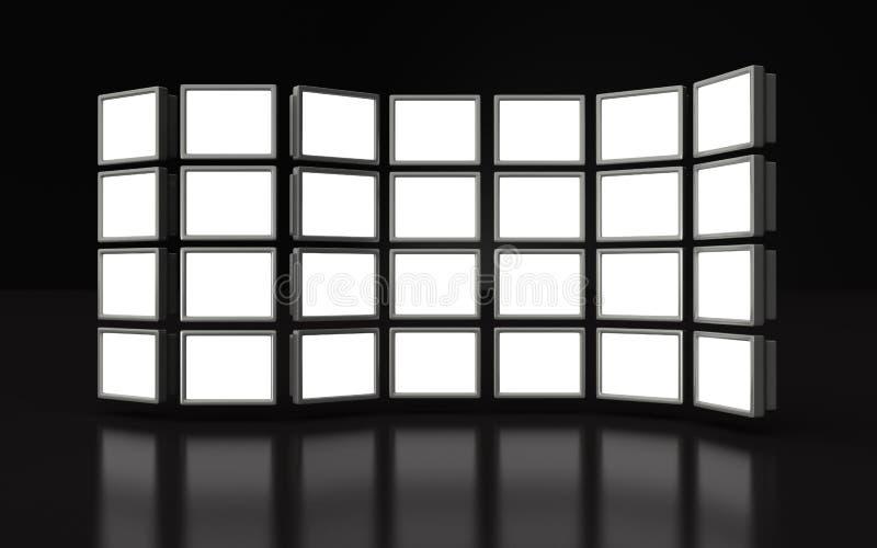 Indicador do projetor do frame da foto ilustração stock