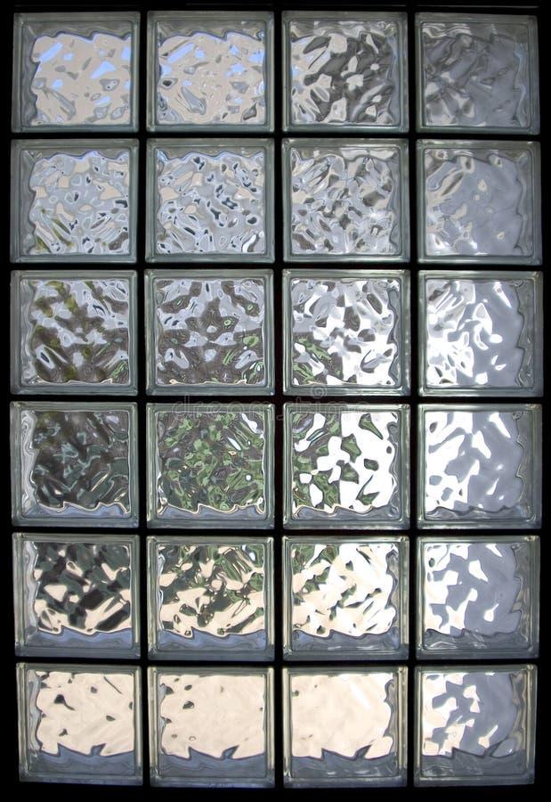 Indicador do tijolo de vidro fotos de stock royalty free