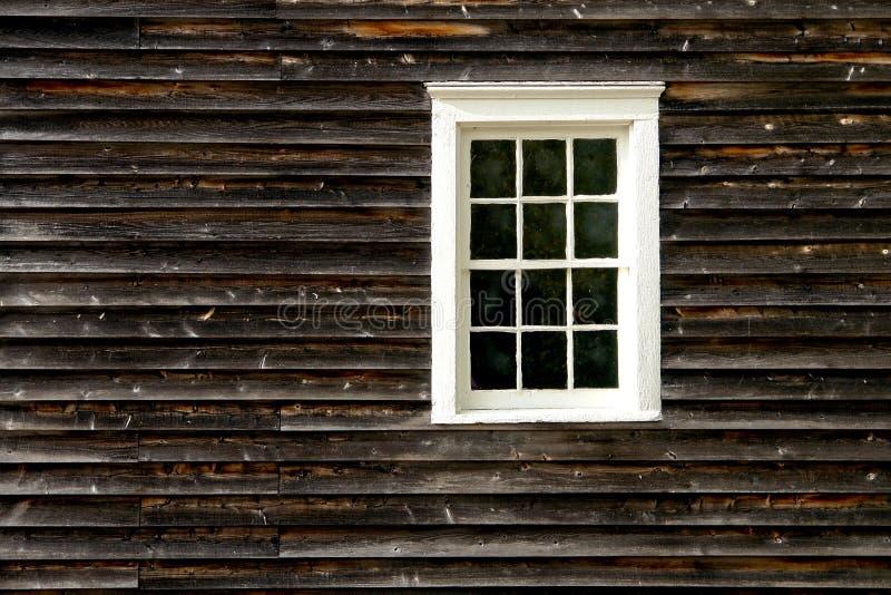 Indicador em uma casa de madeira histórica velha fotos de stock