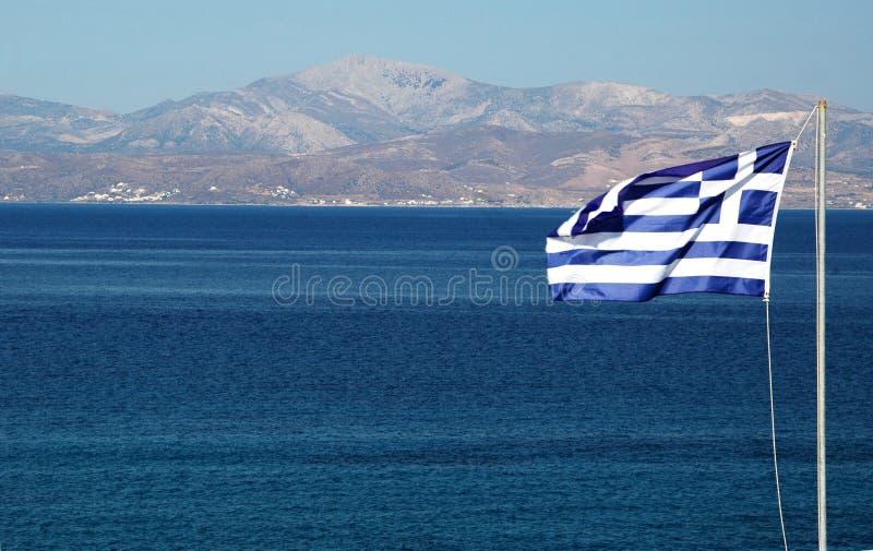 Indicador griego foto de archivo