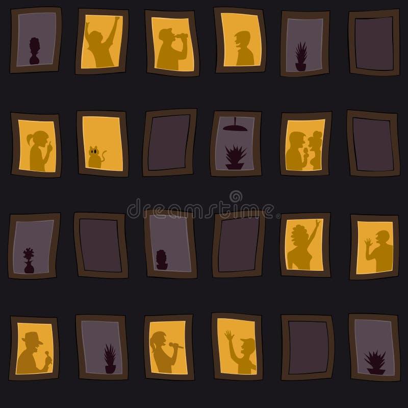 Indicador iluminado ilustração stock