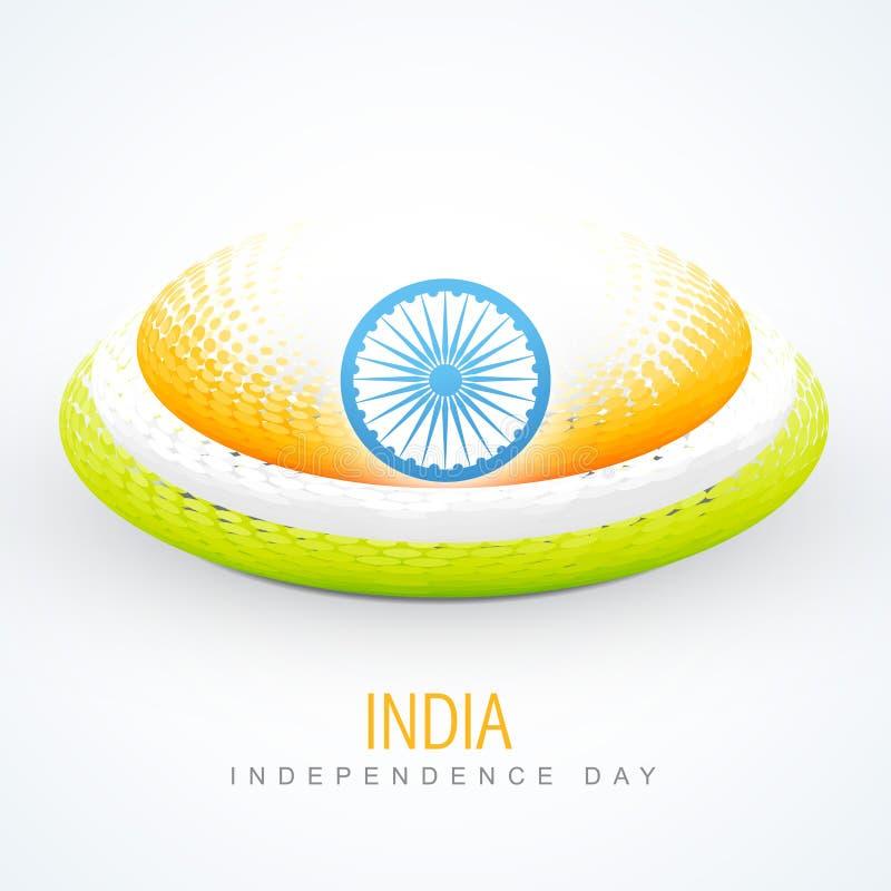 Indicador indio creativo stock de ilustración