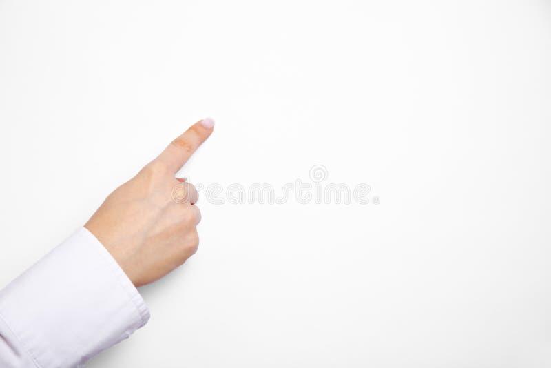 Indicador no papel do flipchart foto de stock royalty free