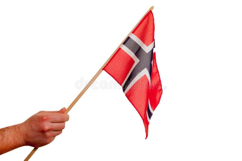 Indicador noruego. imagen de archivo