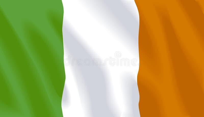 Indicador que agita de Irlanda stock de ilustración