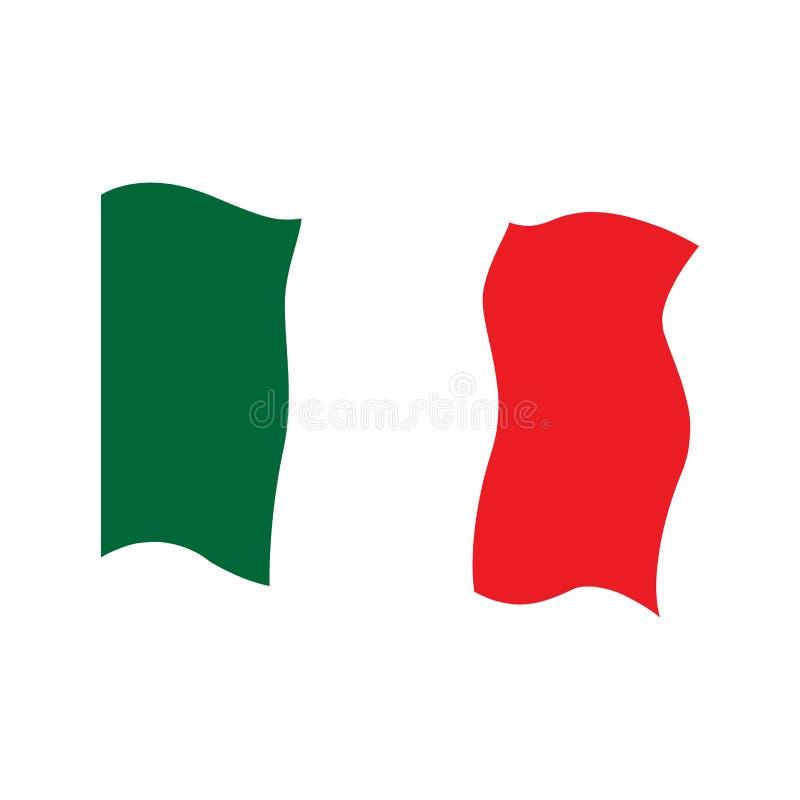 Indicador que agita de Italia stock de ilustración