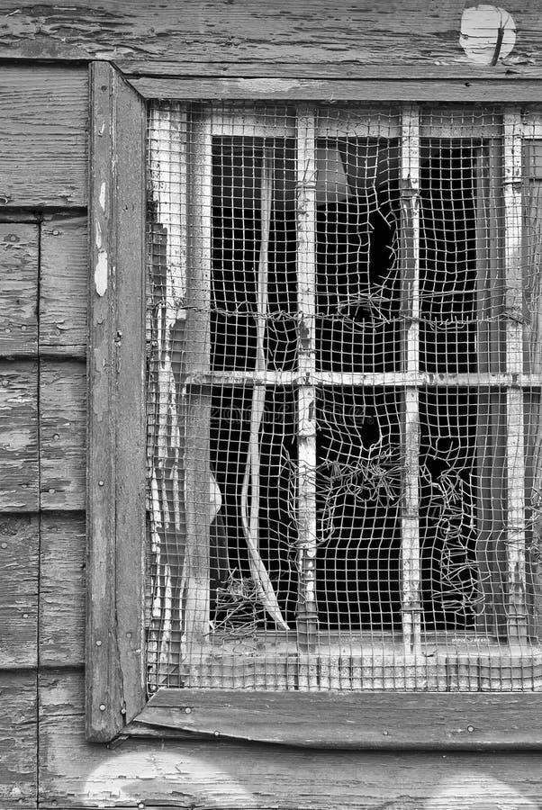 Indicador quebrado em preto e branco foto de stock