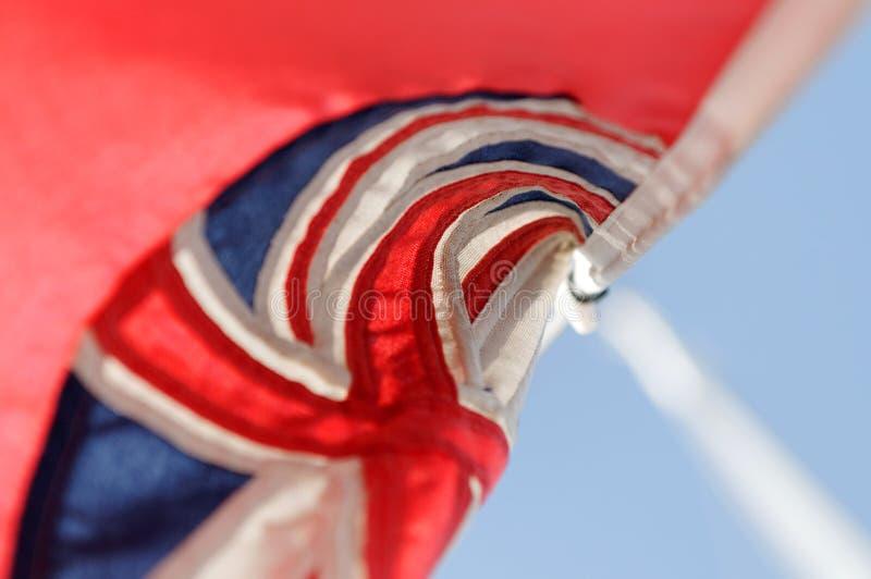 Indicador rojo de la bandera de Gran Bretaña fotos de archivo