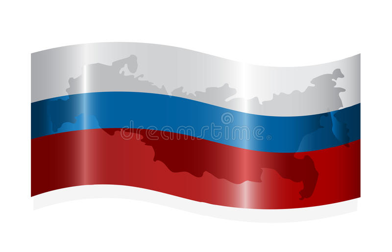 Indicador Ruso Que Agita Fotos de archivo libres de regalías