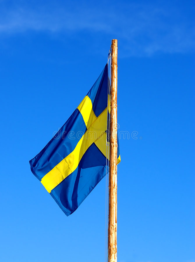 Indicador sueco fotos de archivo