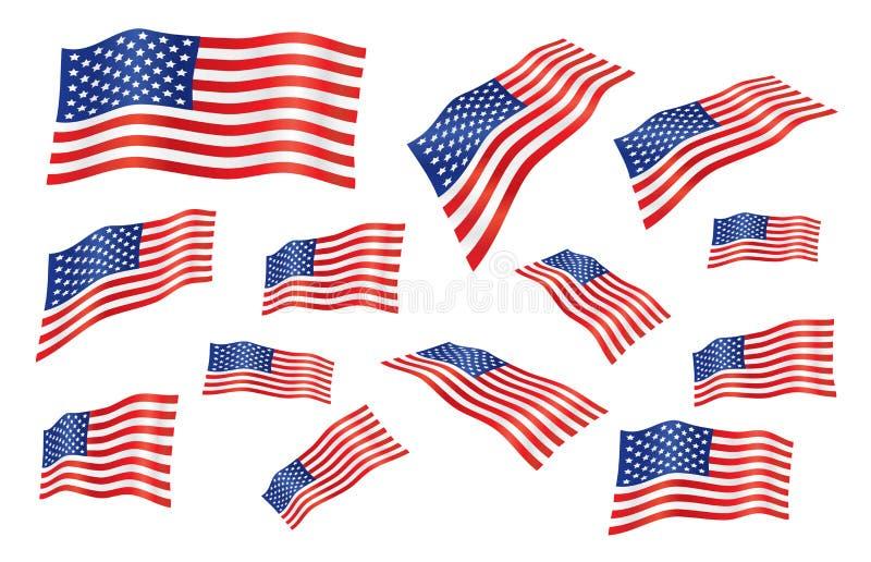 Indicador suelto de Estados Unidos ilustración del vector