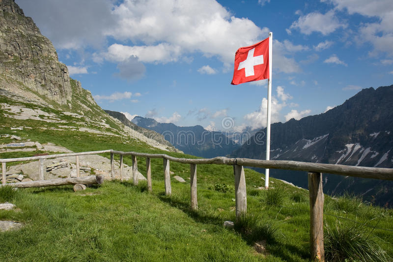 Indicador suizo imágenes de archivo libres de regalías