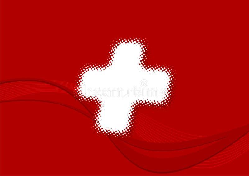 Indicador suizo ilustración del vector
