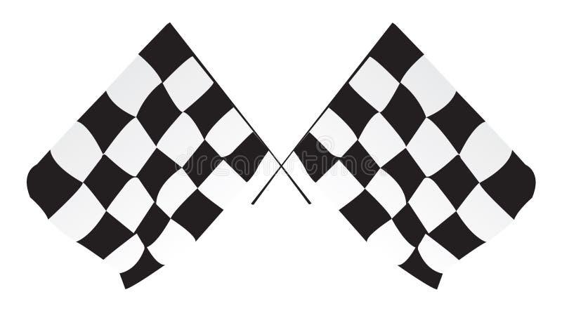Indicadores Checkered fotos de archivo libres de regalías