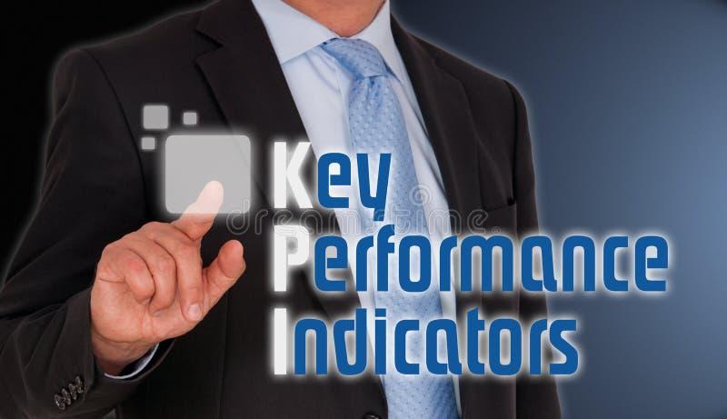 Indicadores de desempenho chaves imagens de stock