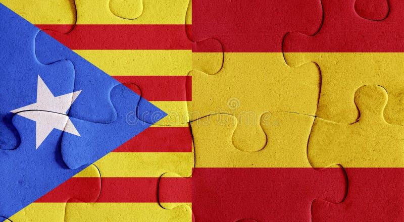 Indicadores de España y de Cataluña libre illustration