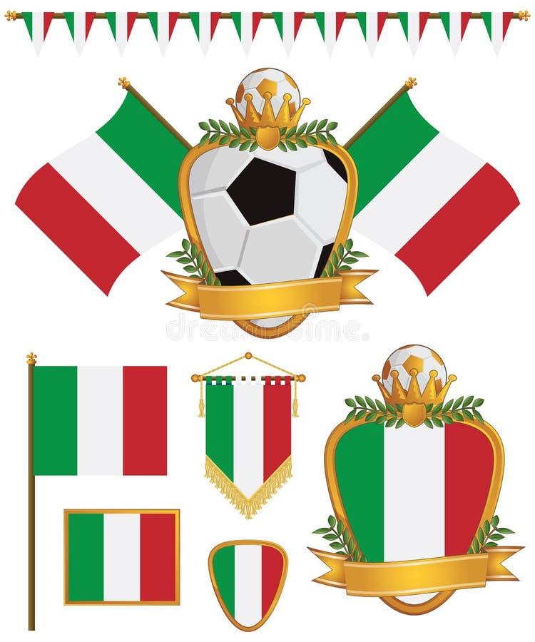 Indicadores de Italia libre illustration