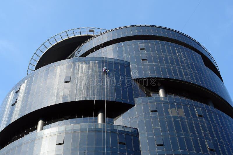 Download Indicadores De Lavagem Do Trabalhador Foto de Stock - Imagem de ocupação, skyscraper: 107525408
