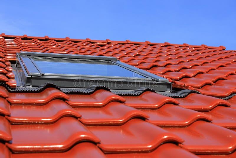 Indicadores do telhado imagens de stock