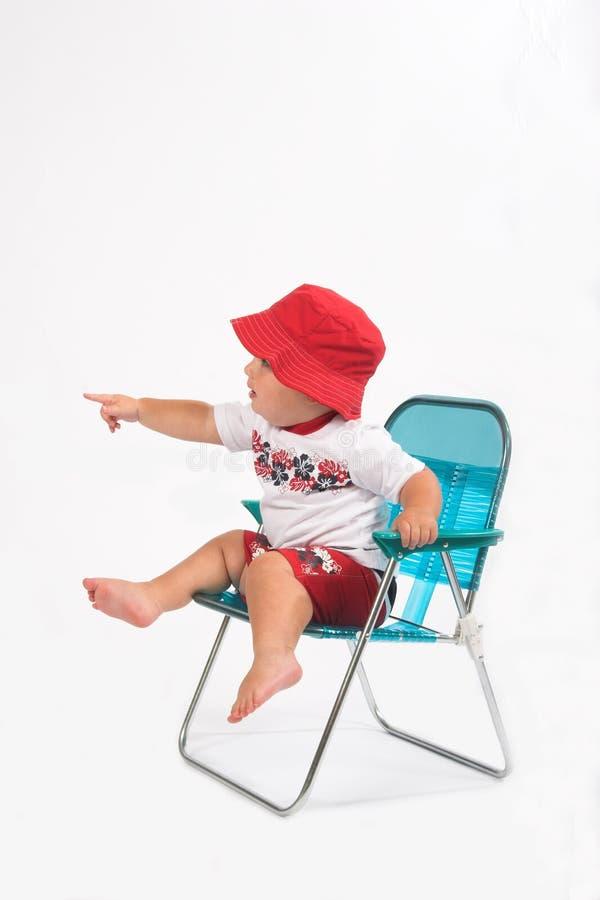 Indicare del bambino fotografie stock libere da diritti