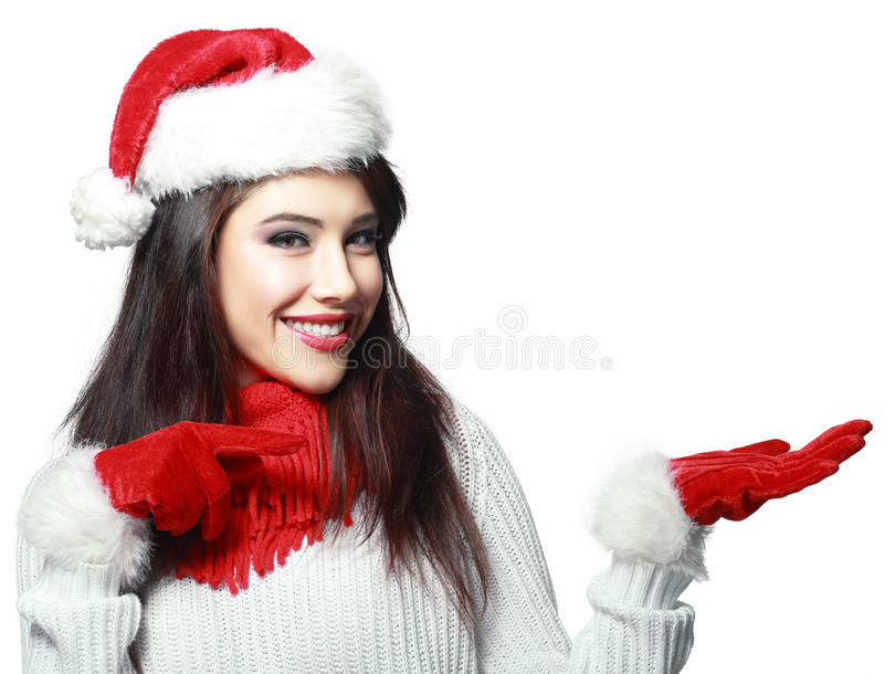 Indicare della donna di Santa immagini stock libere da diritti