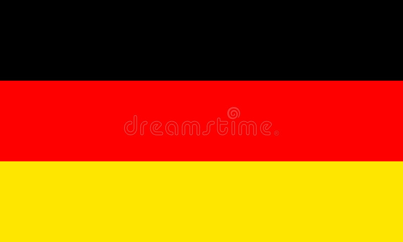 indicateur Allemagne illustration stock