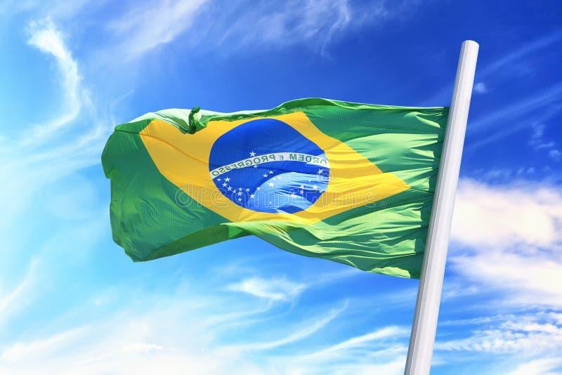 Indicateur brésilien photographie stock libre de droits