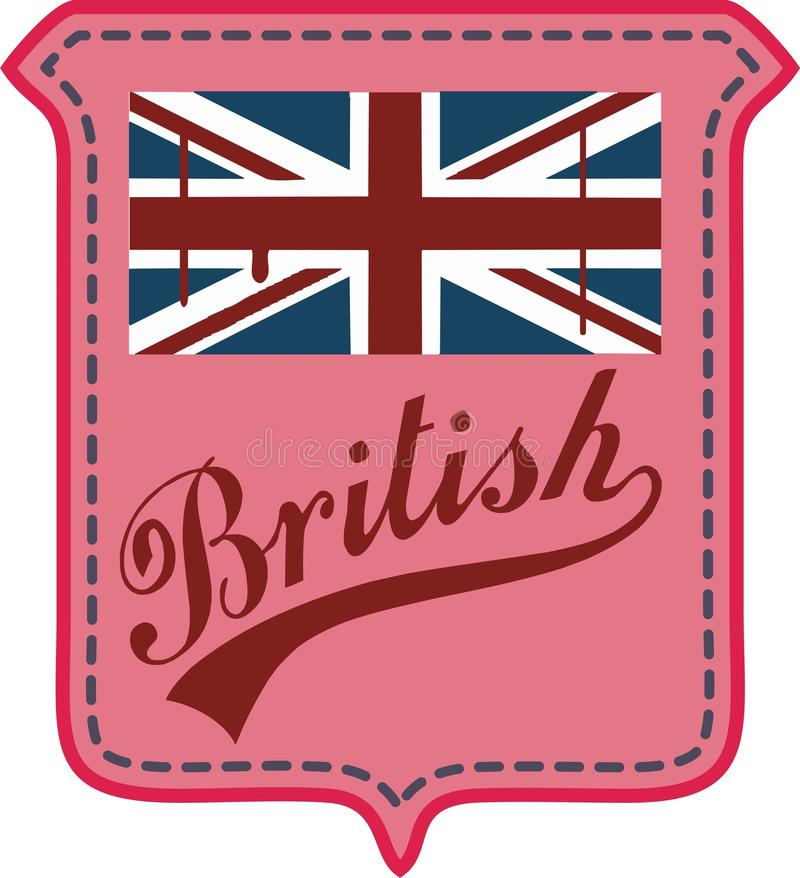 Indicateur britannique illustration stock