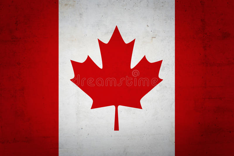 Indicateur canadien image stock